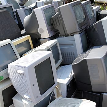 old desktop computers for e-waste recycling